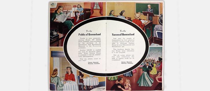 centaur house brochure 1940s inside pages
