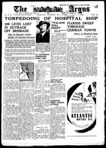 The Argus Melbourne 1943
